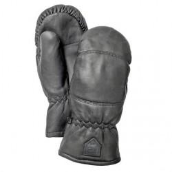 Hestra Leather Box - Mitt Unisex, Black