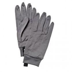 Hestra Merino Wool Liner Unisex, Dark Grey