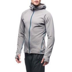 Houdini Mens Power Houdi, S, TRADER GREY