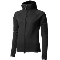 Houdini Womens Power Houdi, XL, TRUE BLACK/TRUE BLACK
