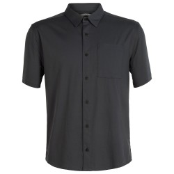 Icebreaker Mens Compass S/S Shirt, L, MONSOON