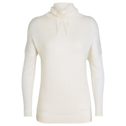 Icebreaker Womens Nova Pullover Sweater, S, SNOW