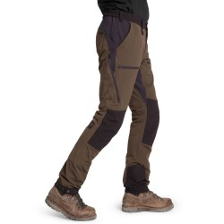 Is not enough Mens Creon Softshell Pants, L, FOREST NIGHT