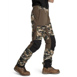 Is not enough Ms Ares Trekking Pro Pants, M, OTTER CAMOUFLAGE