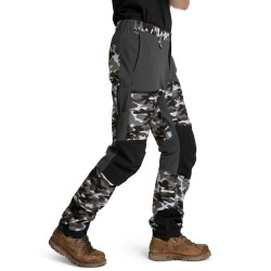 Is not enough Ms Ares Trekking Pro Pants, S, PEWTER CAMOUFLAGE