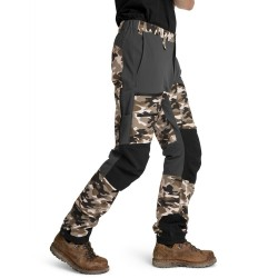 Is not enough Ms Ares Trekking Pro Pants, S, TWILL CAMOUFLAGE
