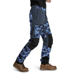 Is not enough Ms Ares Trekking Pro Pants, XL, BLUE HORIZON CAMOUFLAGE