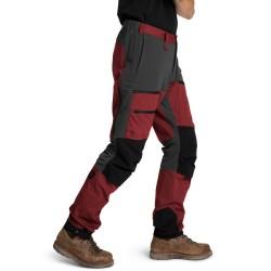 Is not enough Ms Ares Trekking Pro Pants, XL, MERLOT