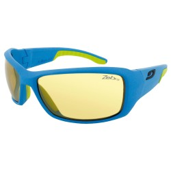 Julbo Run Speed, ZEBRA, BLUE CYAN/GREEN