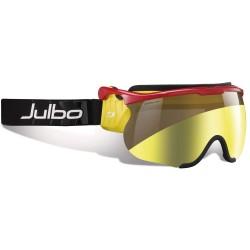Julbo Sniper L Nordic, ZEBRA LIGHT GOLD FLASH, SHINY RED/YELLOW