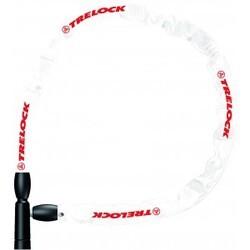 Kædelås Bc 115, 60cm/4mm, Hvid, Lv1