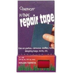 Kenyon Ripstop Repair Tape, RED