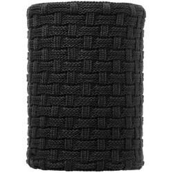 Knitted & Polar Fleece Neckwarmer Airon Black