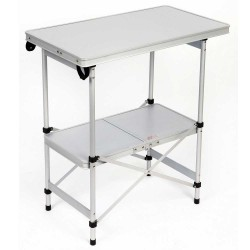 Kogebord aluminium (72 x 40 cm)