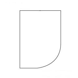 Lagen til franske senge Grey Bredde 160 cm - Højre