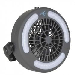 LED lampe 110 lumen med indbygget ventilator
