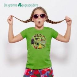 Lejr t-shirt De grønne pigespejdere