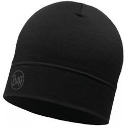 Lightweight Merino Wool Hat - Solid Black