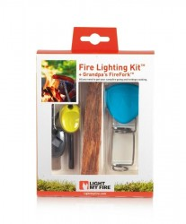 LMF FireLighting Kit Cyan/Lime