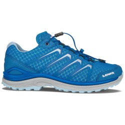 Lowa Womens Maddox Lo, UK 7,5, ROYAL/ICEBLUE