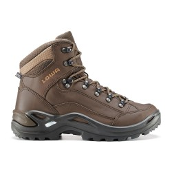 Lowa Womens Renegade LL Mid, UK 4,5, BROWN