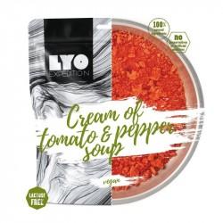 LyoFood Cremet Tomatsuppe med Rød Peber og Løg - Glutenfri Laktosefri & Vegansk
