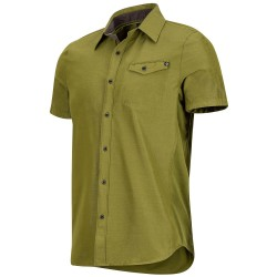 Marmot Mens Contra S/S, M, MILITARY GREEN