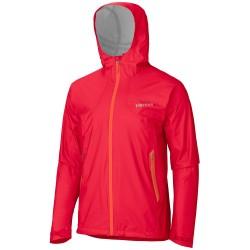 Marmot Mens Micro G Jacket, M, TEAM RED