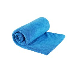 Mikrofiber frotte rejsehåndklæde (40 x 80 cm) Blå