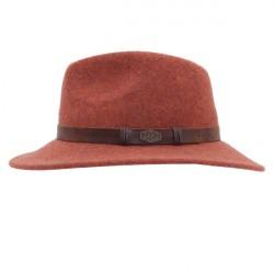 MJM Stavoren Hat 100 % Wool Rust XL