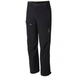 Mountain Hardwear Mens Stretch Ozonic Pant, Black