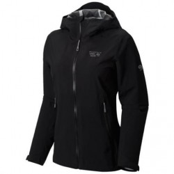 Mountain Hardwear Womens Stretch Ozonic Jacket, Black