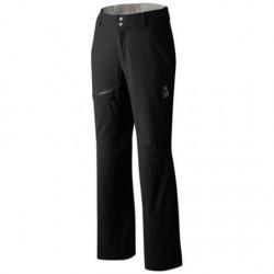 Mountain Hardwear Womens Stretch Ozonic Pant, Black