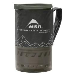 MSR WindBurner 1.0l Pers. Stove System, BLACK