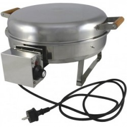 Muurikka Electric Grill, Short Legs, 2200w - Stk. - Str. 42cm - Grill