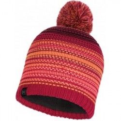 Neper - Knitted & Polar Hat - Bright Pink