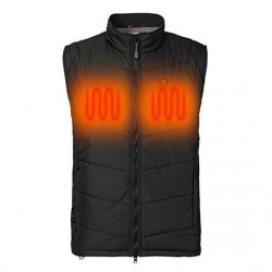 Nordic Heat Quiltet Thermo Vest, Black