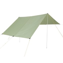 Nordisk Voss 14 PU Tarp, DUSTY GREEN