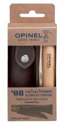 Opinel Classic N°8 stainless 8,5cm Bøg m/skede