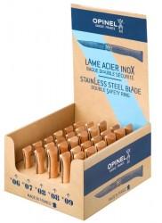 Opinel Classic Stainless I Bøg m/låsering