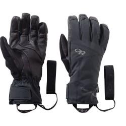 OR Illuminator Sensor Gloves, XL, BLACK
