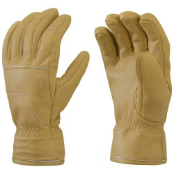 Outdoor Research Aksel Work Gloves, S, NATURAL