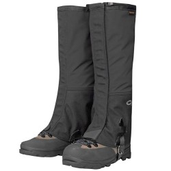 Outdoor Research Crocodiles Gaiters, XL, BLACK