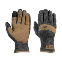 Outdoor Research Exit Sensor Gloves, S, CHARCOAL