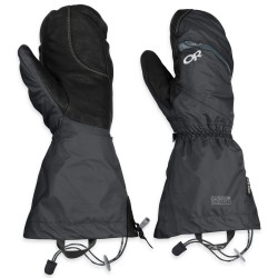 Outdoor Research Mens Alti Mitts, L, BLACK