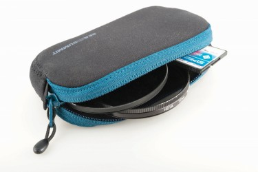Padded Pouch Small Blue/Black