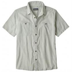 Patagonia Mens Back Step Shirt, Owens / Atoll Blue