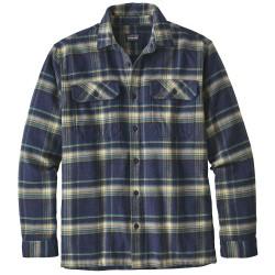 Patagonia Mens Fjord Flannel Shirt, XL, DEFENDER: NEO NAVY