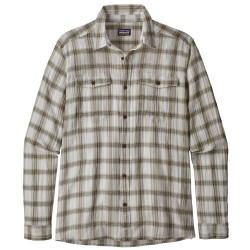 Patagonia Mens L/S Steersman Shirt, XXL, BOONDOCKS: EL CAP KHAKI