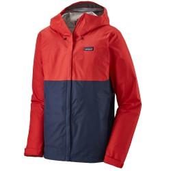 Patagonia Mens Torrentshell 3L Jacket, L, FIRE